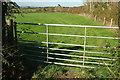 SX5071 : Gate near Easten Bowtan Farm by Derek Harper