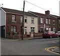 ST1586 : Bradford Street stone houses, Caerphilly by Jaggery