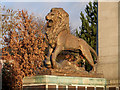 SJ9499 : Lion, Ashton-Under-Lyne War Memorial by David Dixon