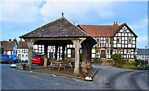 SO3958 : Market Hall and New Inn, Pembridge by Philip Pankhurst