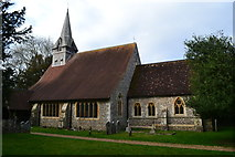 SU3940 : The Church of St. Peter and the Holy Cross, Wherwell by David Martin