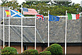 NS3229 : Marine Hotel flags by Thomas Nugent
