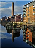 SK3588 : At Kelham Island - looking to The Chimney House by Neil Theasby
