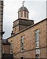 NH6645 : Bell tower West Parish Church by valenta