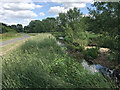 SP1587 : River Cole above Babb's Mill, Kingshurst, east Birmingham by Robin Stott