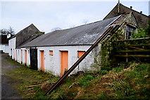 H5672 : Old farm buildings, Mullaghslin Glebe by Kenneth  Allen
