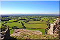 SJ5359 : View from Pulpit Rock at Beeston Castle by Jeff Buck