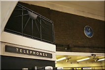 TQ3190 : Wood Green underground station: detail of entrance hall by Christopher Hilton
