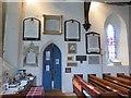SU6474 : Memorials around the door by Bill Nicholls