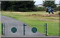 NS3040 : Gates at Irvine Golf Club by Thomas Nugent