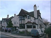 TQ8485 : Somerville Gardens & Highcliff Drive, Leigh-on-Sea by David Kemp