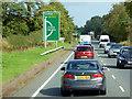 NX7460 : Eastbound A75 approaching Castle Douglas by David Dixon