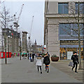 TQ3083 : King's Cross: down Kings Boulevard by John Sutton