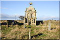 NZ0455 : Mausoleum at St. Andrew's Church, Kiln Pit Hill by Trevor Littlewood