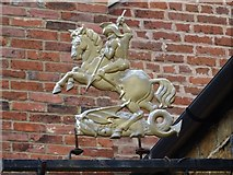 SP4540 : George and the Dragon by Philip Halling