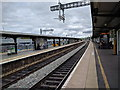 ST6279 : Bristol Parkway station, gantries for overhead electric have been erected, but no wires installed yet by Rob Purvis