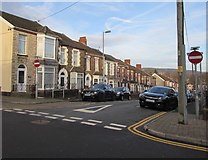 ST1586 : No Entry signs, Bradford Street, Caerphilly by Jaggery