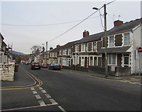 ST1586 : Down Ludlow Street, Caerphilly by Jaggery