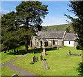 SS7698 : St Illtyd's Parish Church and churchyard, Llantwit, Neath by Jaggery