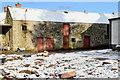 H5065 : Old farm buildings, Raw by Kenneth  Allen