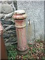 SH6068 : Remains of a stench pipe, Tregarth by Meirion