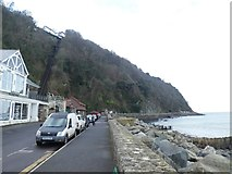 SS7249 : The Esplanade, Lynmouth by David Smith