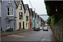 W7966 : Colourful houses, West View by N Chadwick