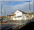 ST1788 : Zebra crossing near St Christopher's Close,  Bedwas by Jaggery