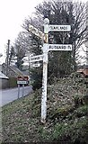 SX0875 : Old Direction Sign - Signpost by Milestone Society