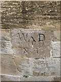 NZ0516 : Old Boundary Marker in Barnard Castle by Milestone Society
