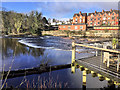 SJ2142 : River Dee at Llangollen by David Dixon