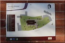 NS4927 : Mauchline Kirkyard Layout Plan by Billy McCrorie