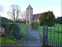 SO8090 : Church Scene by Gordon Griffiths