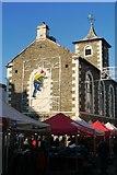 NY2623 : Moot Hall and Market Stalls in Keswick by Jennifer Petrie