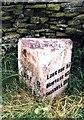 SK0664 : Old Milepost by J Higgins