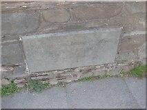 NY2623 : Old Bridge Marker by Milestone Society