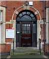 SK5903 : 154 New Walk, Leicester, entrance by Alan Murray-Rust