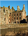 NY0265 : Caerlaverock's Nithsdale Lodgings by Mary and Angus Hogg