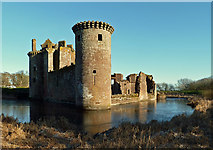 NY0265 : Caerlaverock Castle by Mary and Angus Hogg
