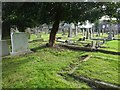 NZ2676 : Churchyard, Cramlington by Richard Webb