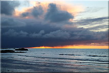 NX1896 : Sunset, Ainslie Shore by Billy McCrorie