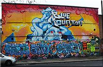 ST5973 : Mural, North Street, Bristol by Derek Harper