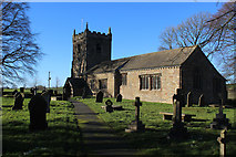 SD9350 : All Saints Church, Broughton with Elslack by Chris Heaton
