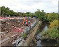 SJ8990 : River Goyt at Knightsbridge by Gerald England