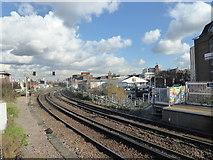 TQ2775 : View eastwards from Clapham Junction by Marathon