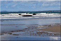 SM8519 : Breaking waves at Newgale Sands by Simon Mortimer