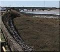 SS5698 : Loughor Bridge by Jaggery