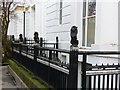 SK5903 : New Walk Museum, railings by Alan Murray-Rust