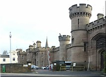 SK5803 : County Gaol, Leicester, west front by Alan Murray-Rust