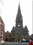 SK5803 : Holy Trinity Church, Regent Road, Leicester by Alan Murray-Rust
